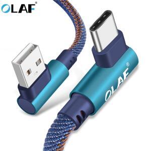 Cabo OLAF 2m USB Type C - Carregamento Rápido   R$19