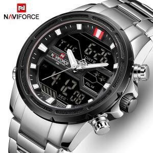 Relógio de Pulso à Prova d'água Naviforce R$118