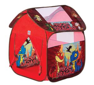 Toca Braskit Dragão 610-8 – Vermelho | R$100