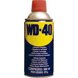 WD-40 Spray Lubrificante 300ml – Embalagem com 6 Unidades - R$19,50 cada