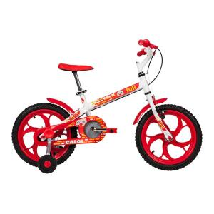 Bicicleta Infantil Caloi Luli Aro 16 - Branco | R$449