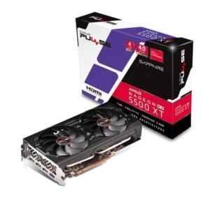Placa de Vídeo Sapphire Pulse AMD Radeon RX 5500 XT, 4GB, GDDR6 | R$ 1650