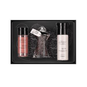 Kit Presente Glamour Secrets Black   R$176