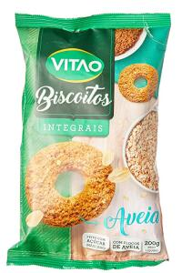Biscoito de Aveia Vitao 200G ( Min.2)   R$4,60 cada