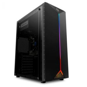 Computador Pichau Gamer, i3-7100 GTX 1050 TI SSD 240GB, 500W, Paladin RGB | R$2975
