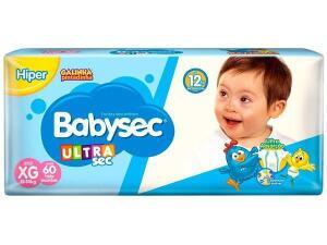 (MagaluPay) Fralda Babysec Ultrasec Galinha Pintadinha Tam. XG | 60 Unid | R$17