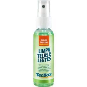 Limpa Telas e Lentes TecBox 60ml + Flanelas 437 | R$11