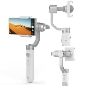 Estabilizador Gilmbal Xiaomi Mijia SJYT01FM 3 Eixos 5000mAh   R$377