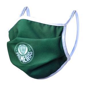Máscara de Proteção do Palmeiras com Elástico Kit com 4 Unidades R$9