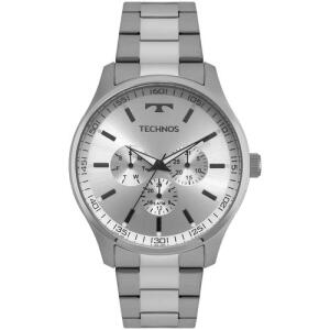 Relógio TECHNOS Steel Masculino 5 ATM Prata 6P29AJO/1K | AME R$ 238