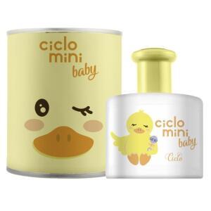 Água de Colônia Ciclo Mini QueQué Ciclo Cosméticos Perfume Infantil - 100ml - Incolor | R$ 50