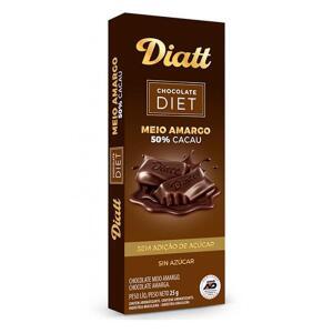 Chocolate Diatt 50% Diet 25g (diversos sabores) | R$ 0,99