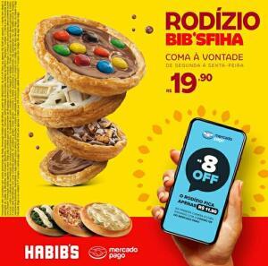 HABIB'S - Rodízio de Esfiha à Vontade - R$11.90