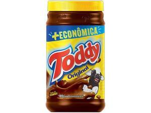 (CLIENTE OURO + APP) 4unid Achocolatado em Pó Chocolate Toddy Original - 800g + 7uni. Toddynhos R$40