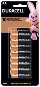 [PRIME] Pilha Alcalina AA, Duracell, Pack com 16 | R$50
