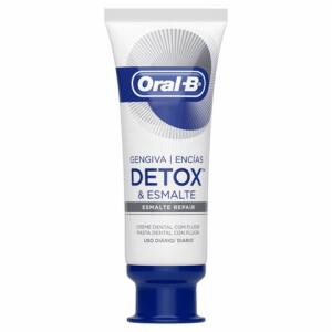 Creme Dental Oral-B Gengiva Detox & Esmalte 102g | R$13