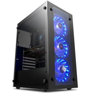 COMPUTADOR PICHAU GAMER, I3-10100F, RADEON RX 550 4GB, 8GB DDR4, HD | R$ 2850