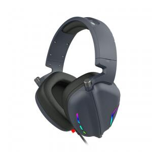 Headset Gamer Havit, RGB, 7.1 Surround, Black, H2019U | R$179