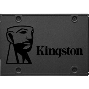 SD Kingston A400, 480GB, Sata III, Leitura 500MBs Gravação 450MBs, SA400S37/480G   R$ 417