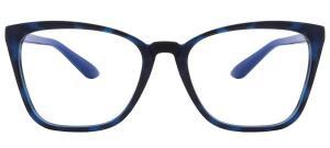 [5% de AME] Óculos de Grau Grazi Massafera GZ3054 F913 Tartaruga Azul | R$172