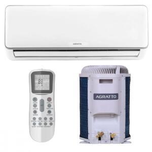 Ar Condicionado Split Inverter Agratto Hi Wall 12000 BTUs Frio ICST12FR4-02 - 220V | R$ 1786