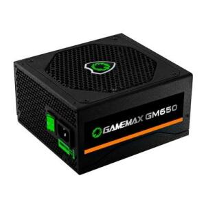 Fonte Gamemax GM650 650W, 80 Plus Bronze, PFC Ativo, Black | R$350