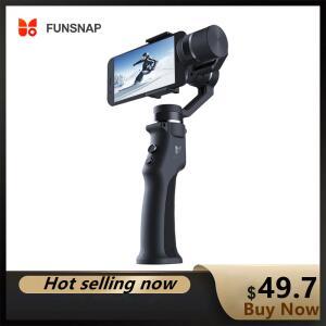Gimball Estabilizador FunSnap + Bateria   R$299