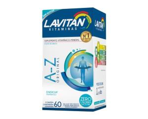LAVITAN A-Z 60 COMPRIMIDOS   R$15