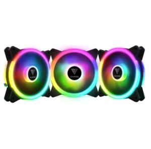 Kit 3 Fans Gamdias Aeolus M2-1203 Lite | R$133