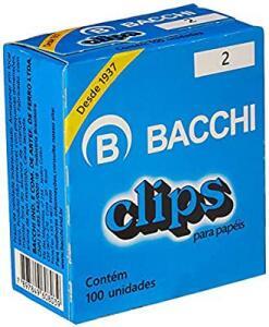 [PRIME] Bacchi 8039, Clips, Multicolor, Pacote de 100 | R$2,2