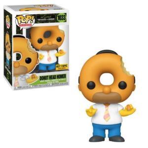 Funko POP! The Simpsons, Donut Head Homer | R$ 99