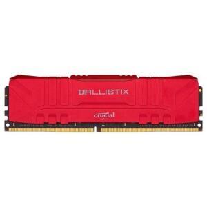Memória RAM Crucial Ballistix 16GB DDR4 3000 Mhz, CL15, UDIMM, Vermelho R$470