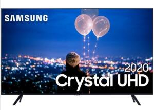 "(APP + CARTÃO AMERICANAS) Smart TV 65"" Samsung 65TU8000 Ultra HD 4k 3 HDMI - R$3322"