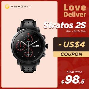 Smartwatch Xiaomi Amazfit Stratos 2S (Pulseira de couro e Tela de Safira) R$566