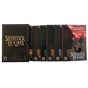 Box 6 Livros | Sherlock Holmes | Sir Arthur Conan Doyle | R$ 29