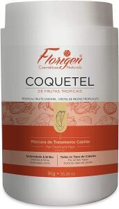 Mascara Tratamento Capilar Coquetel De Frutas Tropicais Florigen, Florigen | R$ 12