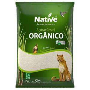 Açúcar Cristal Orgânico Native 5kg | R$18