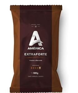 Café Torrado e Moído América Extraforte - Alm. 500g ( Min.2) | R$ 7