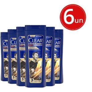 Shampoo Clear Men Anticaspa 6und (200ml) por R$ 58,00