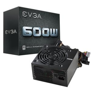[AME | R$ 325] Fonte EVGA 600W 80 Plus White PFC Ativo - R$345
