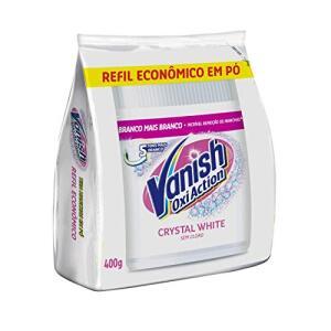[PRIME] Tira Manchas em Pó Vanish Oxi Action Crystal White Refil, 400g - R$7