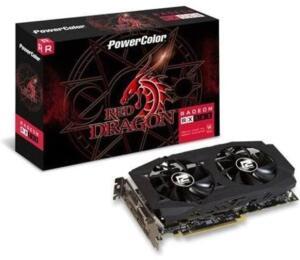 Placa de video power color radeon rx 580 8gb red R$1649