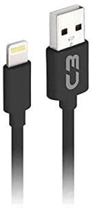 [PRIME] Cabo USB-Lightning C3Plus 1M 2A Preto - CB-L10BK | R$10