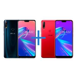 Smartphone ASUS Zenfone Max Pro (M2) 6GB/64GB + Smartphone ASUS Zenfone Shot Plus 4GB/128G (64GB+64GB) | R$1979