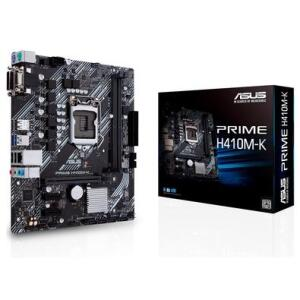 Placa-Mãe Asus Prime H410M-K, Intel LGA 1200, mATX, DDR4 | R$490