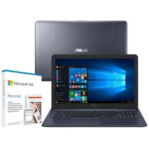"Notebook Asus Core i3-6100U 4GB 1TB Tela 15.6"" Windows 10 | R$2.977"