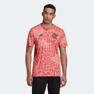 Camiseta Adidas Flamengo Rosa Masculino | R$150