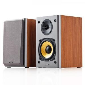 Monitor de Áudio R1000T4 Bivolt 24W RMS EDIFIER - Madeira | R$ 569