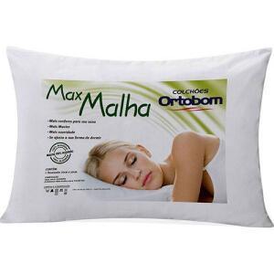 Travesseiro Ortobom Fibra Siliconada Max Malha | R$ 18