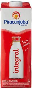 Leite integral Piracanjuba | R$ 3,79